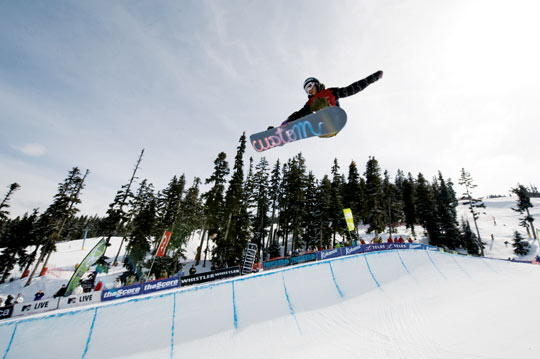 Spectacular display of skiing and snowboarding at the TELUS World Ski and Snowboard Festival's annual Superpipe event.